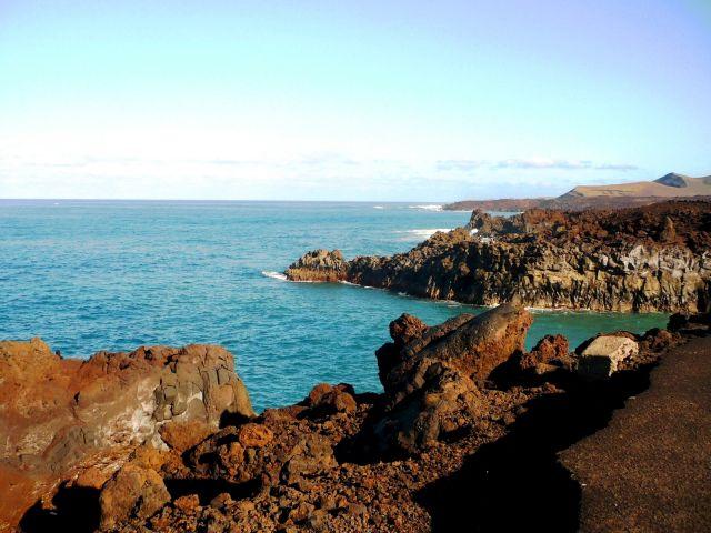 Zdjęcia: Lanzarote, Lanzarote, skalne wybrzeze3, HISZPANIA