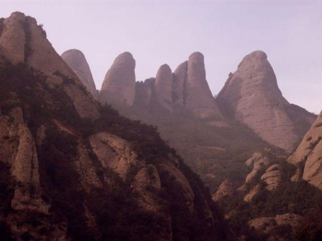 Zdjęcia: Montserrat, Katalonia, Popołudnie w Montserrat, HISZPANIA