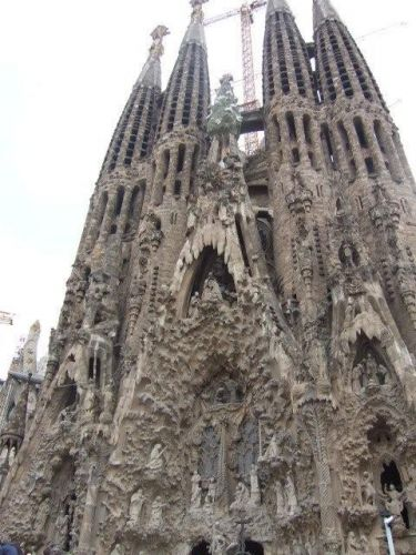 Zdjęcia: Barcelona, Sagrada Familia , HISZPANIA