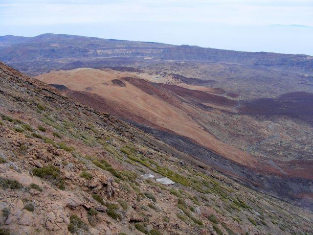 Zdj�cia: Teide, Teneryfa, zbocze wulkanu, HISZPANIA