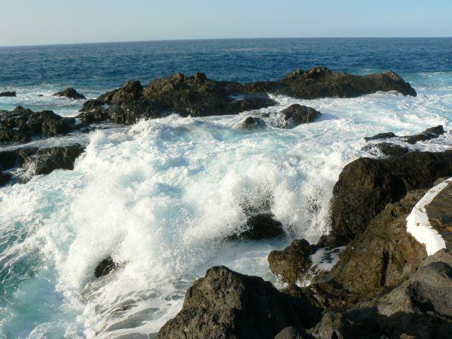 Zdjęcia: ocean, Teneryfa, fale, HISZPANIA