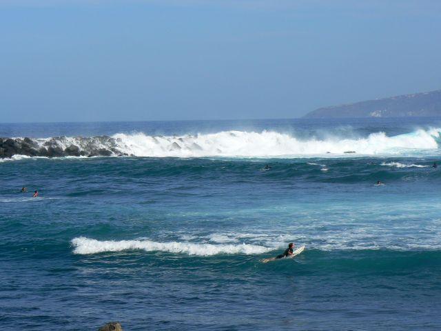 Zdjęcia: ocean, Teneryfa, miejsce dla serferów, HISZPANIA