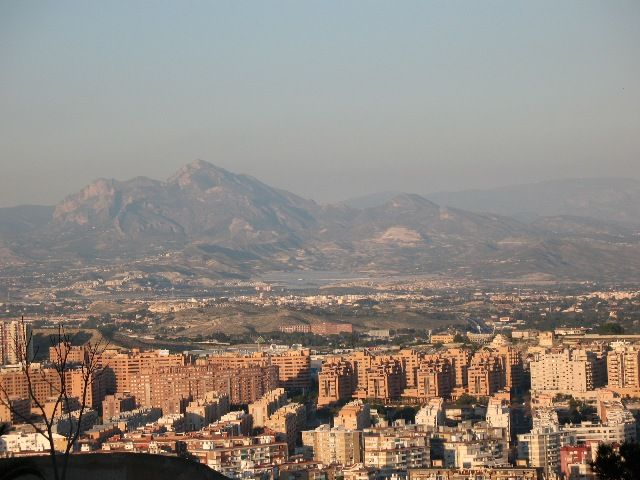 Zdjęcia: Alicante, Walencja, panorama z zamku, HISZPANIA