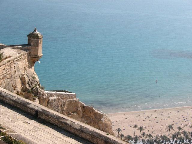 Zdjęcia: Alicante, Walencja, widok z zamku, HISZPANIA