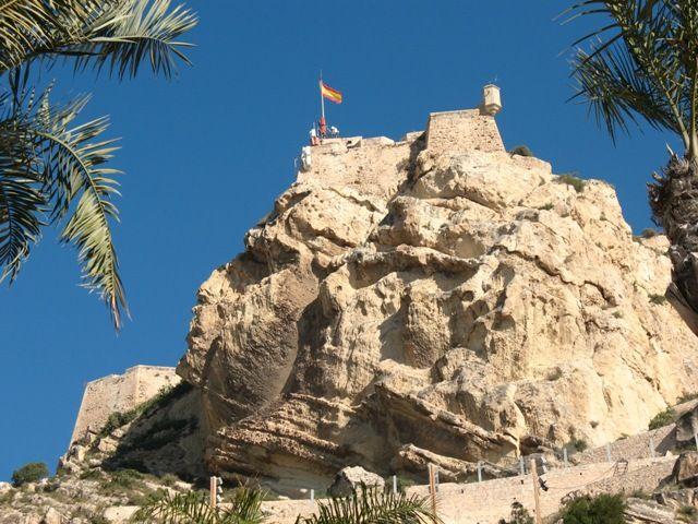 Zdj�cia: Alicante, Walencja, twarz Maura i zameczek, HISZPANIA