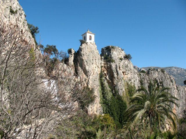 Zdj�cia: Guadalest, Walencja, zamek , HISZPANIA