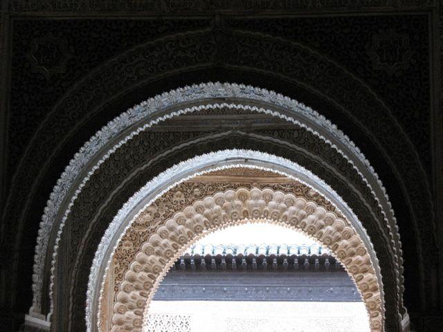 Zdj�cia: Granada, Andaluzja, Alhambra od �rodka, HISZPANIA