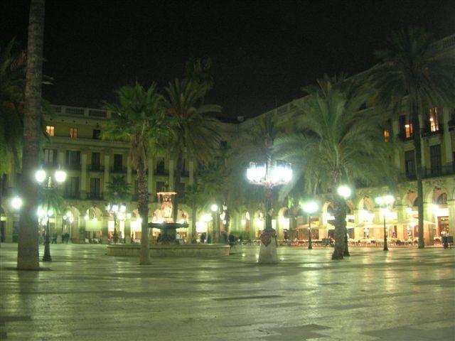 Zdjęcia: Barcelona, Barcelona nocą, HISZPANIA