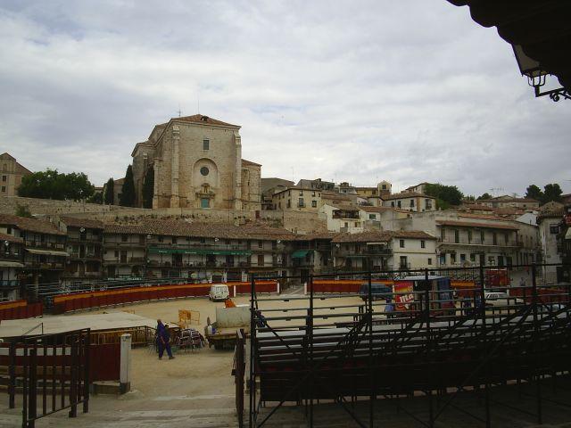 Zdjęcia: okolice Madrytu, Rynek-arena, HISZPANIA