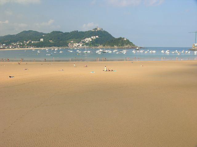 Zdjęcia: San Sebastian, Plaża, HISZPANIA