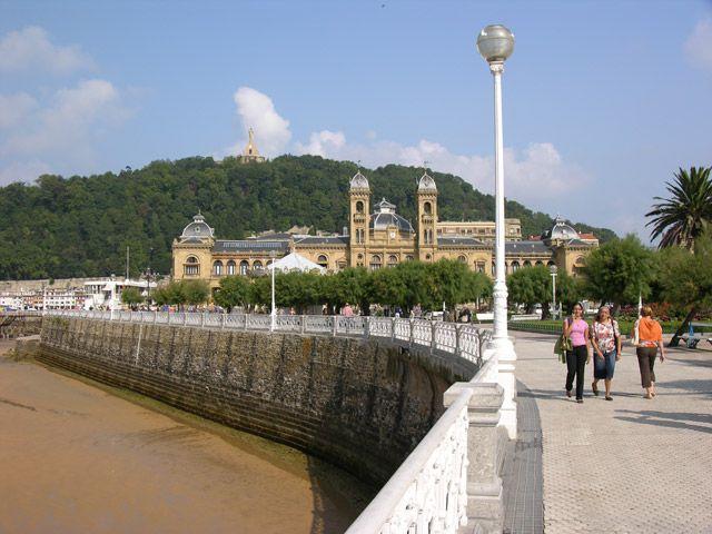 Zdjęcia: San Sebastian, Promenada, HISZPANIA