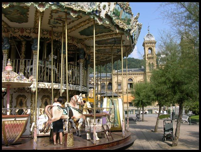 Zdjęcia: San Sebastian, Karuzela, HISZPANIA