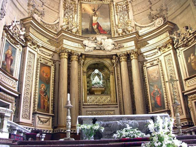Zdjęcia: San Sebastian, W katedrze, HISZPANIA