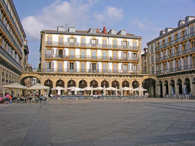 Zdjęcia: San Sebastian, Plac, HISZPANIA