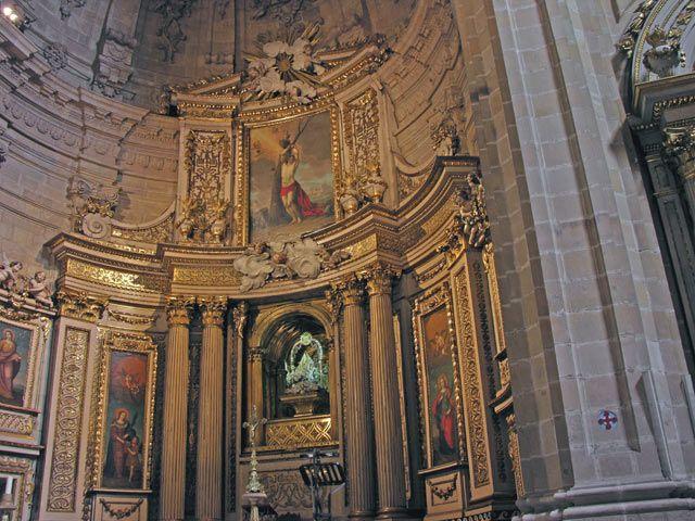 Zdjęcia: San Sebastian, Ołtarz główny, HISZPANIA
