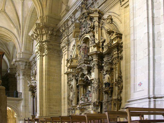 Zdjęcia: San Sebastian, Ołtarz boczny, HISZPANIA