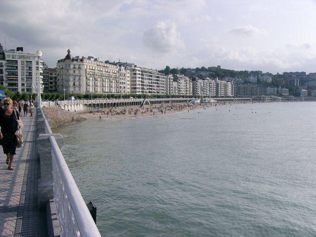 Zdjęcia: San Sebastian, Plaża miejska, HISZPANIA
