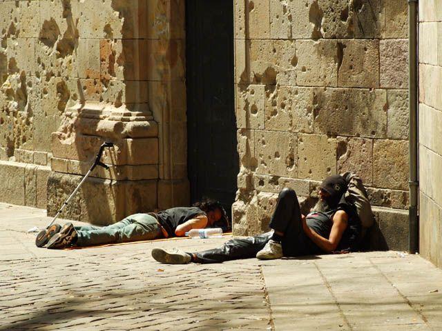 Zdjęcia: Barcelona, Katalonia, siesta..., HISZPANIA