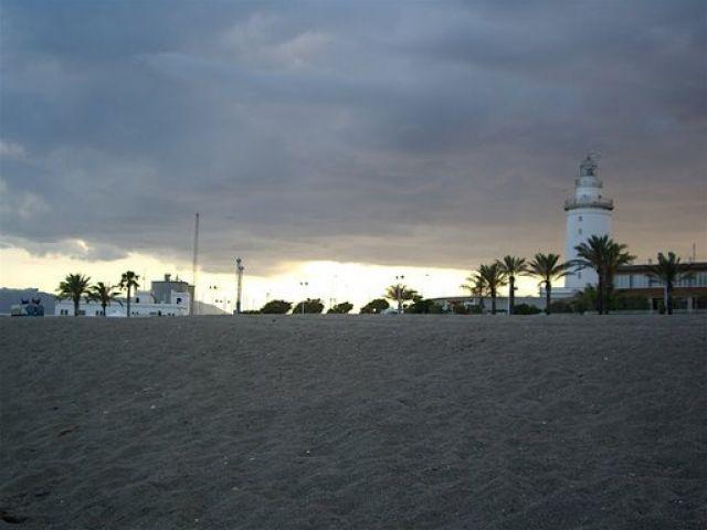 Zdj�cia: Malaga, Andaluzja, Latarnia, HISZPANIA