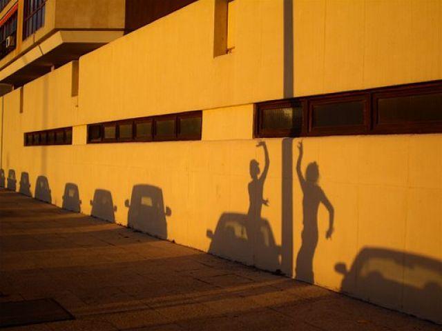 Zdjęcia: Malaga, Andaluzja, Cień flamenco, HISZPANIA