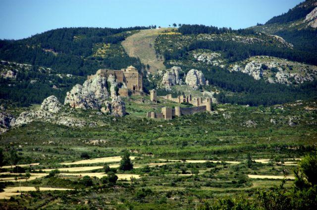 Zdjęcia: Castello Loarre, Srodkowe Pireneje, Zameczek, HISZPANIA