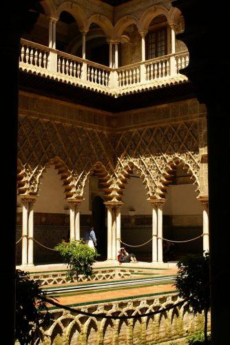 Zdjęcia: Sewilla, Andaluzja, dziedziniec, HISZPANIA