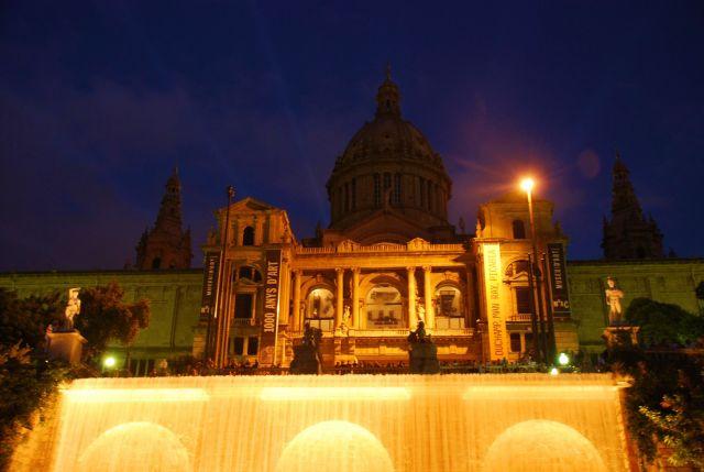 Zdj�cia: barcelona, katalonia, pokaz swiatla i wody, HISZPANIA