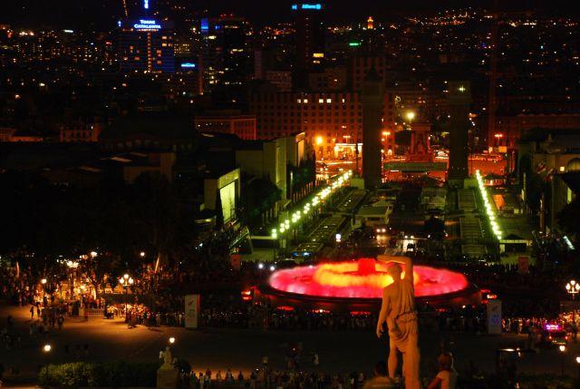 Zdjęcia: barcelona, katalonia, swiatlo i woda, HISZPANIA