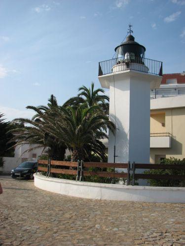 Zdjęcia: PALAMOS, COSTA BRAVA, Faro de Palamos, HISZPANIA