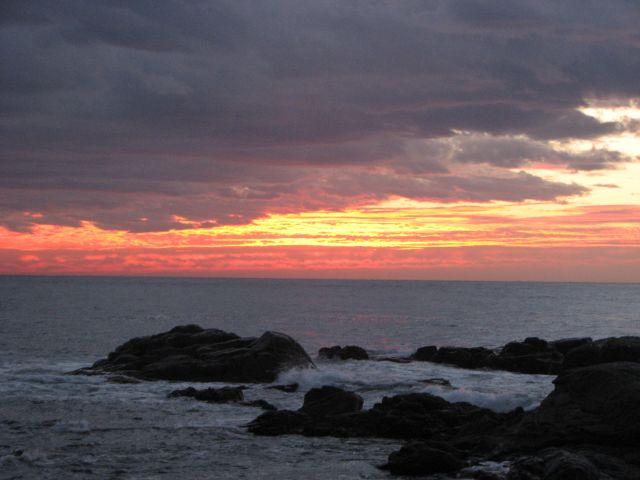 Zdjęcia: calella, COSTA BRAVA, la salida del sol, HISZPANIA