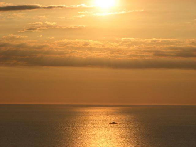 Zdjęcia: BEGUR, COSTA BRAVA, la salida del sol, HISZPANIA