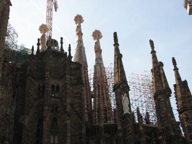 Zdj�cia: BARCELONA, Catalunya, Sagrada Fam�lia , HISZPANIA
