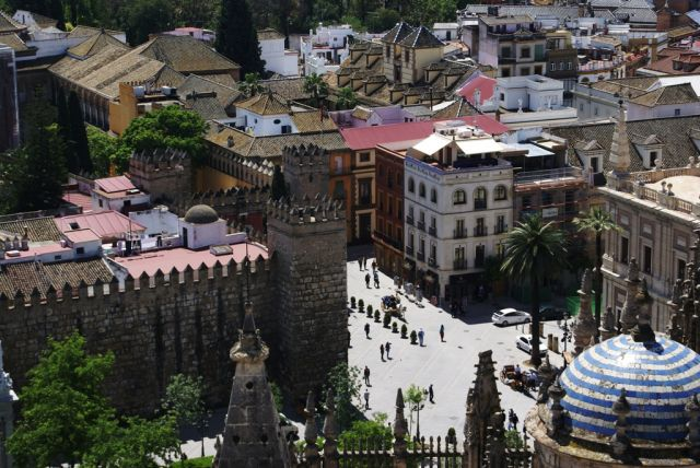 Zdjęcia: Sewilla, Andaluzja, Między katedrą a Alcazarem, HISZPANIA