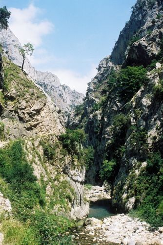 Zdjęcia: Garganta del Cares, Asturia, wąwóz, HISZPANIA