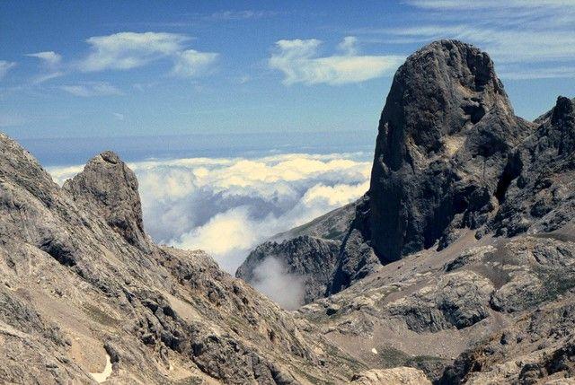 Zdjęcia: Picos de Europa, Kantabria, Oko w oko z zębem, HISZPANIA