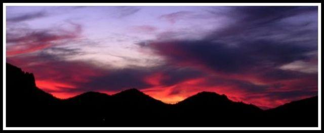 Zdjęcia: Teneryfa, Niesamowity spektakl swiatel, HISZPANIA