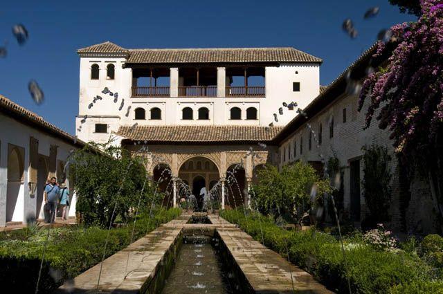 Zdjęcia: GRANADA, ANDALUCIA, LA ALHAMBRA - PALACIO DEL GENERALLIFE, HISZPANIA