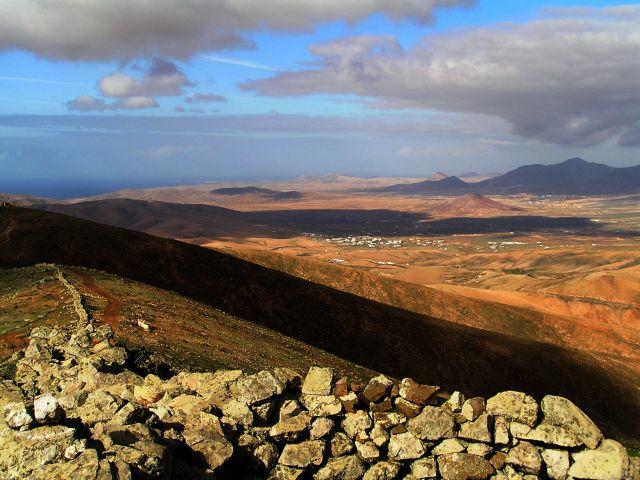 Zdjęcia: Degollada de la Villa, Fuerteventura, Pejzaż, HISZPANIA