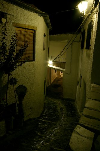 Zdj�cia: pampaneira, andaluzja, noc w pampaneirze, HISZPANIA