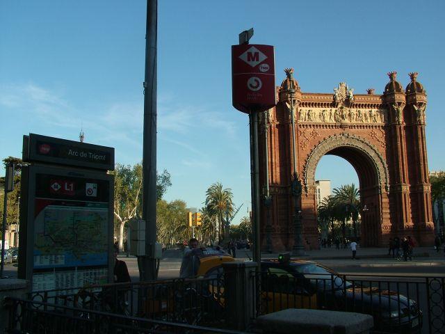 Zdjęcia: ARC THE TRIOMF, Barcelona, ŁUK, HISZPANIA