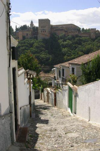 Zdjęcia: Granada, Andaluzja, Uliczka, HISZPANIA