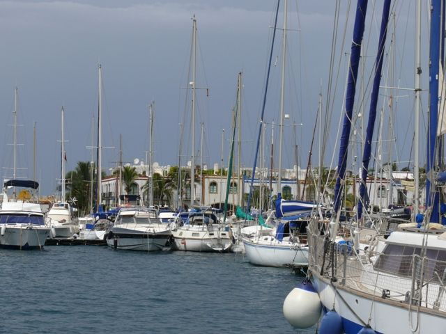 Zdjęcia: Gran Canaria, Wyspy Kanaryjskie, Port w Puerto de Mogan, HISZPANIA