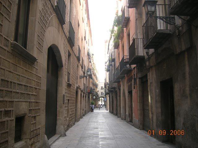 Zdjęcia: Barcelona, Katalonia, Uliczka w Barcelonie, HISZPANIA