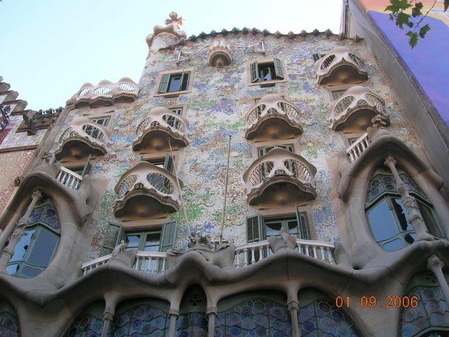 Zdjęcia: Barcelona, Katalonia, Casa Batllo (projekt Gaudiego), HISZPANIA