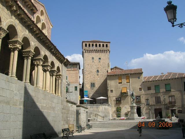 Zdjęcia: Segovia, Kastylia - Leon, Plac Św. Marcina, HISZPANIA