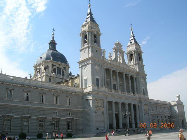 Zdjęcia: Madryt, Katedra de Nuestra, HISZPANIA