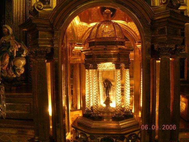Zdjęcia: Madryt, Real Monastario de la Encarnacion - relikwiarz, HISZPANIA