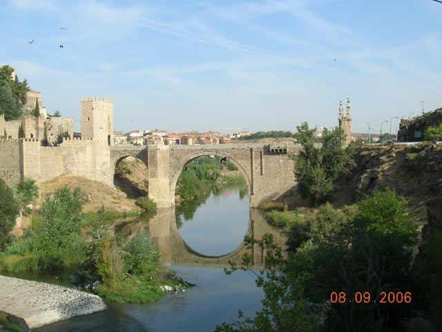 Zdjęcia: Toledo, -Kastylia - La Mancha, Most Alcantara, HISZPANIA