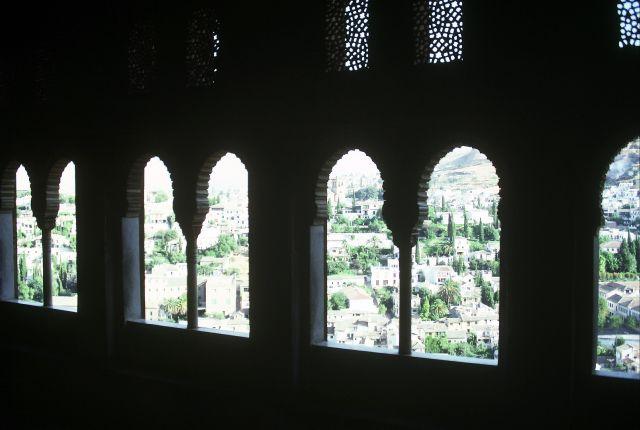 Zdjęcia: Granada, widok z Alhambry, HISZPANIA