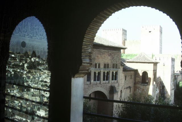 Zdjęcia: Granada, Odbicie w lustrze, HISZPANIA